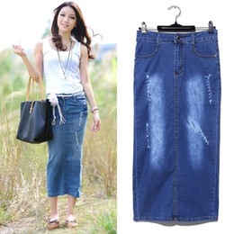 Cheap Long Jean Skirts
