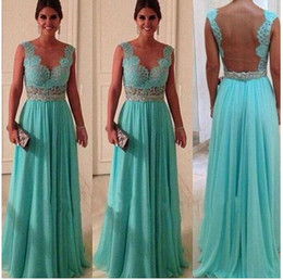 Wholesale New mother off bride dresses High quality Blue Long Ball Prom Gown Formal Bridesmaid Dress party evening dresses