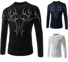 Wholesale Hot Men s Long sleeved T shirt casual long sleeved T shirt M XXL