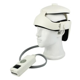 Wholesale Digital Massager For Head Neck With Heating Therapy Acupressure Vibration Soothing Music Massage Brain Improve Sleep Y4274B