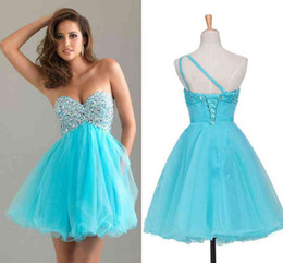 Discount Pool Blue Dresses | 2017 Pool Blue Prom Dresses on Sale ...