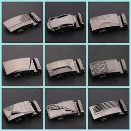 50PCS LJJH1283 la venta caliente de la aleación ocasional cinturones de hebilla de correa del hombre de la hebilla del cinturón de metal automática 20 Diseño de negocio hebilla en stock
