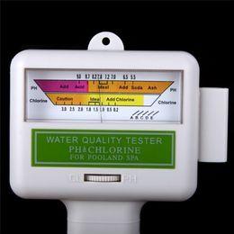 Wholesale Nuevo Probador de calidad SPA Agua PH Agua fiable medidor de nivel de cloro CL2 Tester para Piscina metro PH para Sunna H533