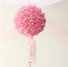 Wholesale wedding supplies decorative flower ball wedding room decoration wedding garland romantic wedding room decoration