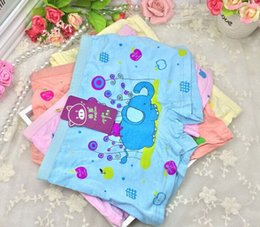 Wholesale Selling children s bamboo fiber female baby small pants pants children cartoon girls comfortable boxer briefs bread for free delivery