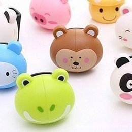 cute cartoon family automatic toothbrush rack to make you more healthy cartoon toothbrush holder 25g