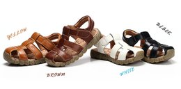 Wholesale 2016 new arrival childrens boys sandals with colors high quality childrens shoes boys sandals kids sandals for boys