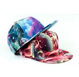Wholesale 2014 Hot New Galaxy Snapback Style Hats Adjustable Baseball Hip Hop Cap