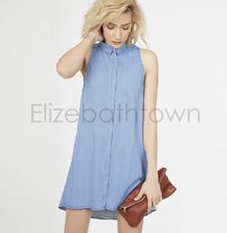 Women Blue Jean Dresses Online - Blue Jean Dresses For Women for Sale