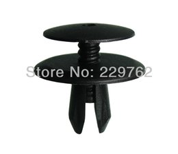 2017 automotive plastic retainers vw china Free Shipping 100PCS Push Type Retainer For VW Fasteners For Cars Auto Plastic Fasteners Automotive Plastic Fastner Clips cheap automotive plastic retainers