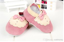 Wholesale New baby toddler shoes red tie gentleman elegant temperament first walker leather shoes pairs