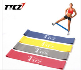 Wholesale Fitness Exercise Workout Pilates Yoga Strength Resistance Bands Pull Strap Good Quality Hot Sale More Colors