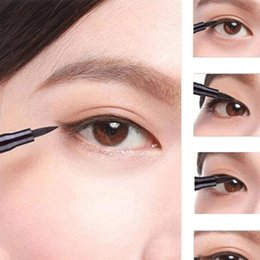 Wholesale 2015 Hot Sale Waterproof Beauty Makeup Cosmetic Liquid Eye Liner Eyeliner Pen Pencil Black high quality
