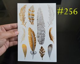 Wholesale MT256 Boho Style Temporary Jewelry Tattoos Buy This Metallic Jewelry Tattoos As Holiday Gift New Arrival