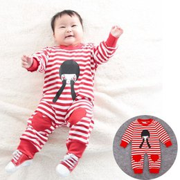 Wholesale Xayakids Cool Pu s children s clothing sales in spring and autumn new Baby boy children s striped pocket doll long sleeved clothes C752