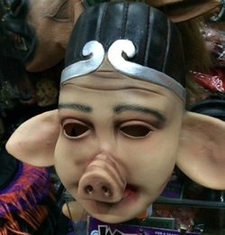 Wholesale Halloween cosplay costume party mask journey to the west dress up clothes pig eight quit