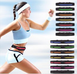 Discount travelling packs Sport Waist pack Multifunction Cycling Running Unisex sports Waist Packs Outdoor casual waterproof phone bag invisible Travel bag B301