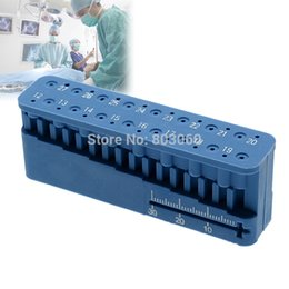 Wholesale Top Seller Dental Mini Endo Measuring Autoclavable Endodontic Block Files Dentist Instrument Ruler As Seen Tv Products