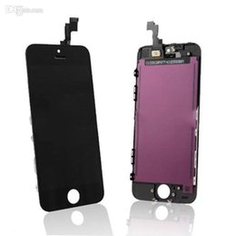 Black White LCD Écran tactile Digitizer Full Assembly pour iPhone 5 5S 5C pièces de rechange de réparation Livraison gratuite