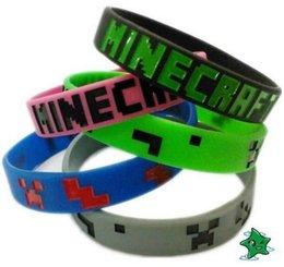 Wholesale Minecraft wristband in stock Minecraft bracelet