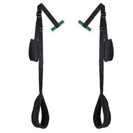 Wholesale Black Easy sexy Strap Bondage Gear Hanging Door Swing Sex Products Open Thigh Sling Adult Sexy Toys for Couples Improve Sex Life
