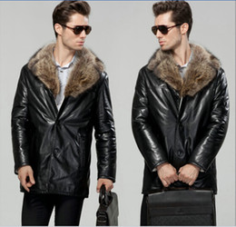 Real Leather Coats Mens Online | Mens Real Leather Fur Coats for Sale