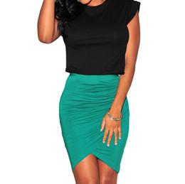 Black Stretch Pencil Skirt Knee Length Online | Black Stretch ...