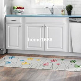 Free Shipping Modern Kitchen Mat Absorbent Japanese Decorative Kitchen Floor Mats 45 120cm Big Size Non Slip Bathroom Rug