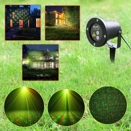 Discount landscape laser projector light Outdoor Laser Light LED Laser Floodlight Lawn Lamps Waterproof Garden Lights Starry Firefly Landscape Light Green&Red Projector Light