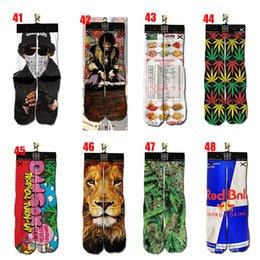 Wholesale MOQ pairs cool socks D odd sox socks printed socks sport Unisex Plantlife Socks