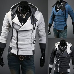 Wholesale Man fashion slim fit Hoodies And Sweatshirts Autumn and winter style hoodies