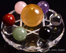Crystal Ball Производители Поставка Crystal Glass Ball Декоративные партии Прозрачность Высокая вода Aqua Crystal Украшение стола Украшение Декор