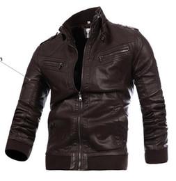 Discount Dark Brown Leather Motorcycle Jacket | 2017 Dark Brown