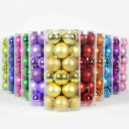 Wholesale 2015 New Arrival Cheap Christmas Tree Decorations Mixed Colorful Christmas Balls per barrel Merry Christmas Bottled Christmas supplier