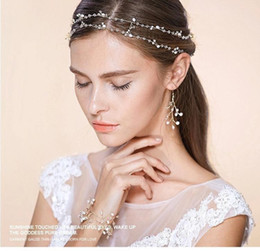 Wholesale Bridal Accessories Cheapest Pearls Wedding Bridal Party Prom Jewelry Pearls Bracelet Wristband Bracelet CPA466