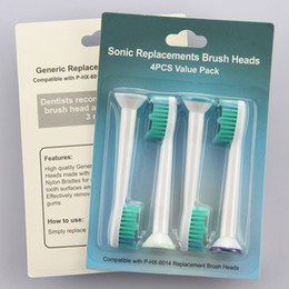 Wholesale 2016 set Toothbrush Head Toothbrush Replacement Heads Fits for Philips Sonicare P HX HX6014 Tooth brush
