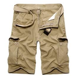 Mens Shorts Cargo Pockets