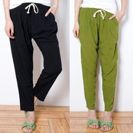 Discount Wide Leg Linen Pants For Women | 2017 Wide Leg Linen ...
