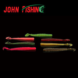 discount fishing lures plastic worm baits | 2016 soft fishing, Reel Combo