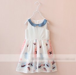 Wholesale 2015 Summer Girls Organza Casual Party Dress Children Clothing Child Korean Fashion Clothes dresses for children