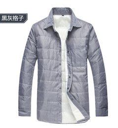 Wholesale LIHOMME and white duck down warm down shirt man han edition tide enhanced