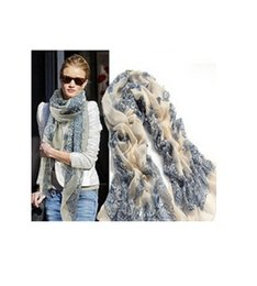 2017 women scarves dhl shipping Wholesale-Fashion Women 2015 New Beautiful Blue And White Porcelain Print Scarf Warm Scarf Free Shipping 100pcs DHL free shipping cheap women scarves dhl shipping
