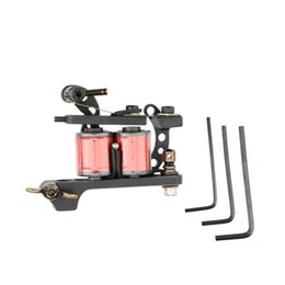 Wholesale Crescent Style Rotary Tattoo Machine Shader Liner Gun Professional Coil Wraps Tattoo Equipment Permanent