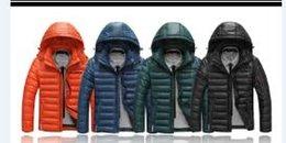 Осень-Зима Новый MensDuck пуховики Мужчины На открытом воздухе Съемное с капюшоном толстый теплый Parka вскользь пальто Men M-3XL