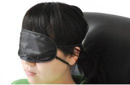 Wholesale Soft Eye Mask Shade Nap Cover Blindfold Sleeping Travel Rest Christmas Gift