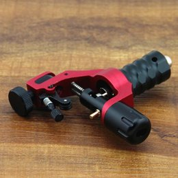 Wholesale New Aluminium Alloy Rotary Motor Tattoo Machine Gun For Shader Liner Red