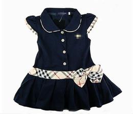 Wholesale London Designer Girls Dresses Size Summer Brand Baby Dress Party Dresses for Girls Kids Dresses Children Clothing Kids Clothes Y
