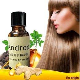 Wholesale DHL free Natural Andrea Hair Growth Essence oil Hair Loss Liquid ml Dense Hair Fast Sunburst Growth hair Restoration Pilatory hair beauty
