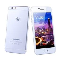 1: 1 I6s I6s ainsi MTK65735 4.7inch téléphone intelligent 5,5 pouces 1 Go de RAM de 8 Go ROM avec 8 Go de carte SD fonction réelle 4G réelle empreinte téléphone portable