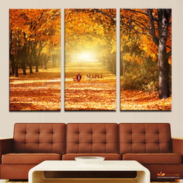 Hot Sell Canvas Art Wall Decor Painting Beauty Autumn Scenery Home Decoration Wall Art Large Wall Picture For Living Room Modern Painting